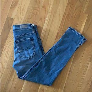 AG Jeans The Stevie Skinny, Size 26
